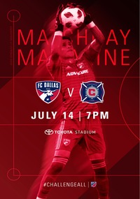 online magazine - Gameday Magazine vs. Chicago Fire