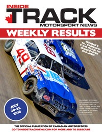 online magazine - Inside Track Motorsport News - Results - July 24, 2018