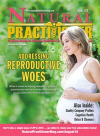 online magazine - Natural Practitioner August 2018