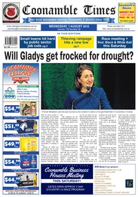 online magazine - Coonamble Times, 1 August 2018