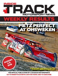 online magazine - Inside Track Motorsport News - Weekly Results - August 7, 2018