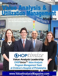 online magazine - Healthcare Value Analysis & Utilization Mgt Magazine|Vol-6 Iss-3