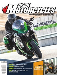 online magazine - Inside Motorcycles • Vol. 21, Iss. 05 • September 2018