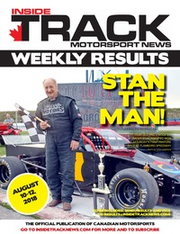 online magazine - Inside Track Motorsport News - Weekly Results - August 14, 2018