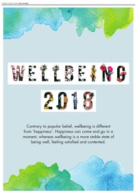 online magazine - Wellness Feature 2018