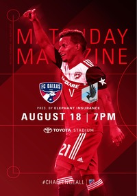 online magazine - 2018 FC Dallas Gameday Magazine
