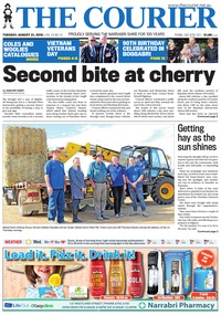 online magazine - The Courier and Wee Waa News, August 21, 2018