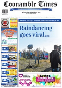 online magazine - Coonamble Times, 22 August 2018