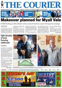 online magazine - The Courier, August 23, 2018
