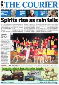 online magazine - The Courier and Wee Waa News, August 28, 2018