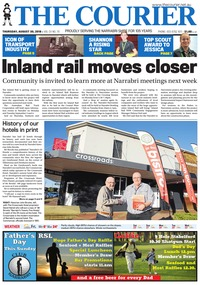 online magazine - The Courier, August 30, 2018