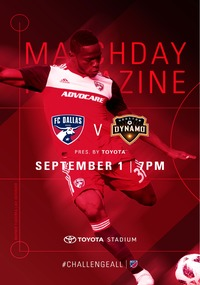 online magazine - Gameday Magazine: FC Dallas vs. Houston Dynamo