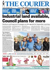 online magazine - The Courier and Wee Waa News, September 4, 2018