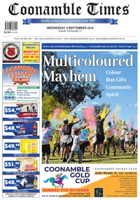 online magazine - Coonamble Times, 5 September 2018