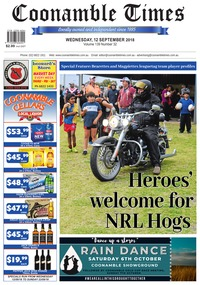 online magazine - Coonamble Times September 12, 2018