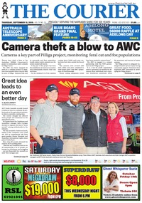 online magazine - The Courier, September 13, 2018