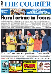 online magazine - The Courier, September 20, 2018