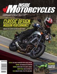 online magazine - Inside Motorcycles • Vol. 21, Iss. 06 • Oct./Nov. 2018