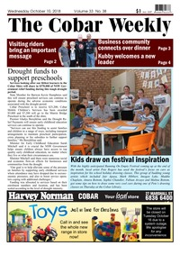 online magazine - The Cobar Weekly Oct 10, 2018