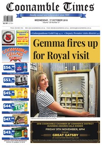 online magazine - Coonamble Times, 17 October 2018