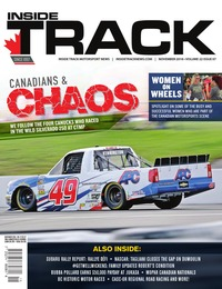 online magazine - Inside Track Motorsport News • Vol. 22, Iss. 07 • Nov. 2018