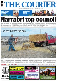 online magazine - The Courier, October 25, 2018