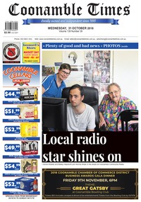 online magazine - Coonamble Times, 31 October 2018