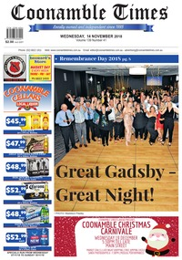 online magazine - Coonamble Times, 14 November 2018