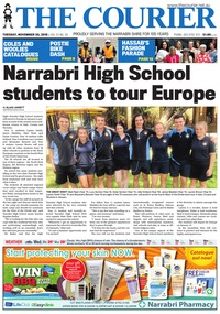 online magazine - The Courier and Wee Waa News 181120
