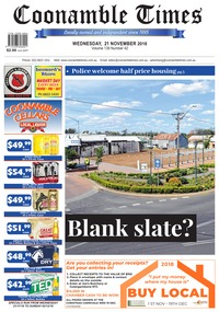online magazine - Coonamble Times, 21 November 2018
