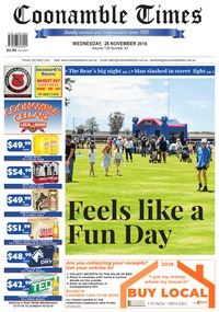 online magazine - Coonamble Times, 28 November 2018