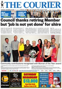 online magazine - The Courier and Wee Waa News, November 29,2018