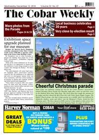 online magazine - The CObar Weekly December 12, 2018