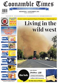 online magazine - Coonamble Times, 19 December 2018
