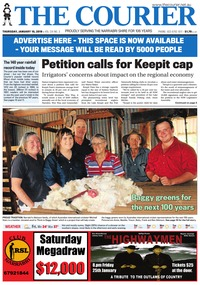 online magazine - The Courier, January 10, 2019