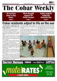 online magazine - The Cobar Weekly January 23, 2019