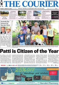 online magazine - The Courier and Wee Waa News, January 29, 2019