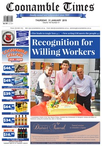 online magazine - Coonamble Times, 31 January 2019