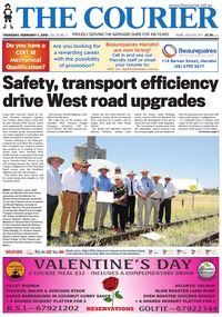 online magazine - The Courier, February 7, 2019