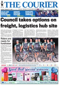 online magazine - The Courier and Wee Waa News, February 12, 2019