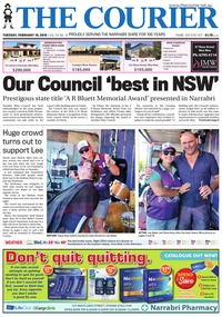 online magazine - The Courier and Wee Waa News 190219