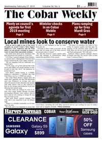 online magazine - The Cobar Weekly February 27, 2019