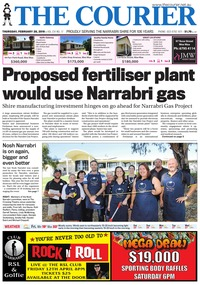 online magazine - The Courier, February 28, 2019