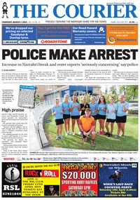 online magazine - The Courier, March 7, 2019