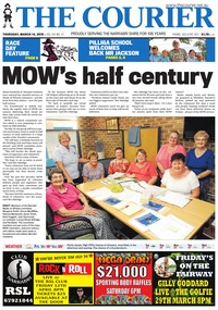 online magazine - The Courier, March 14, 2019