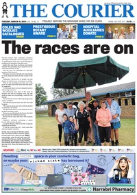 online magazine - The Courier and Wee Waa News, March 19, 2019