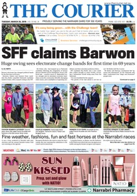 online magazine - The Courier and Wee Waa News, March 26, 2019