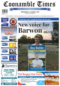 online magazine - Coonamble Times, 27 March 2019
