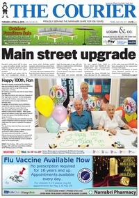 online magazine - The Courier and Wee Waa News, April 2, 2019