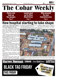 online magazine - The Cobar Weekly, April 3, 2019